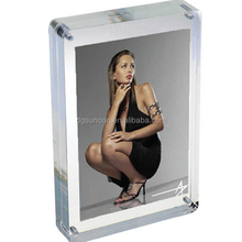 5x7 clear double sided picture frame