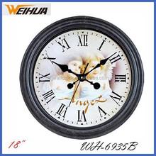 analog antique cheap 18 inch wall clock
