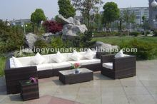 8-piece outdoor rattan sofa set design 2012 UNT-R-144