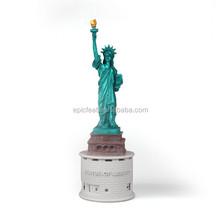 USA souvenires wireless speaker figurine statue of liberty