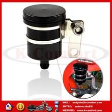 K024 CNC Motorcycle Brake Reservoir Clutch Tank Cylinder Master Fluid Oil Cup For Aprilia Ducati Honda Kawasaki Suzuki Triumph
