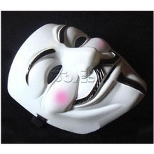 Movie V for Vendetta V team mask yellow V-theme mask Halloween masquerade party mask props