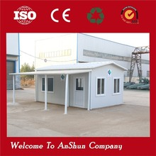 Industrial camping prefabricated toilet office container