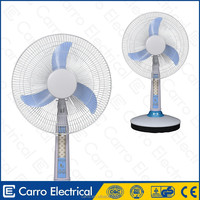 Factory supply 12v battery table fan usha table fan