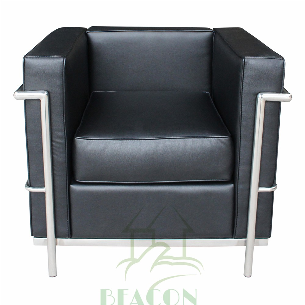 Replica mobili per ufficio, cuoio LC2 poltrona letto singola ...