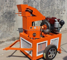 ES1-25 Curbstone Interlocking Brick Making Machine Low Cost