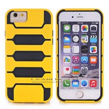 2015 new outter PC+inner tpu double layer phone cases for iphone 6