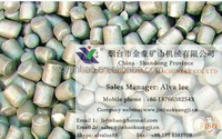 Forged steel bar &forged stell balls for grinding of the ball mill machine
