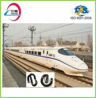 Railway fastener spring rail clip fastening fitting