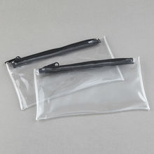 INTERWELL LWJ24 Wholesale Pen Case, Plastic Pencil Case with Zipper