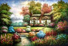 Landscape Old Oil Painting for bedroom