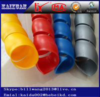 colored spiral guard for hydraulic hose