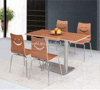 professional restaurant furniture perspex dining table and chairs