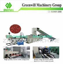 plastic recycled granulating line plastic granuler raw material