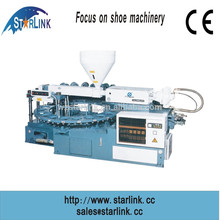 2015 China Wenzhou single color rotary best price shoe injection moulding machine for safety shoe