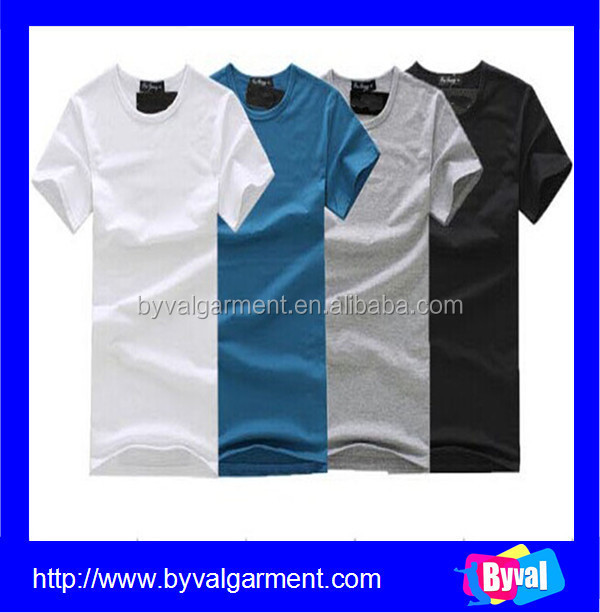 Custom design high quality dry fit blank t shirt latest t for High quality custom shirts