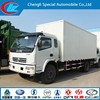 2015 new mini van lorry Dongfeng 4x2 container body good quality container cargo truck