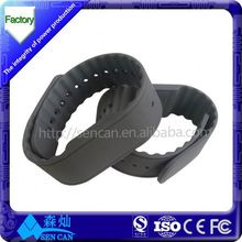 Custom Design RFID Wristbands /NFC Silicone Bracelet / HF Wristlet for Sports, Events,Water Parks, Party and Access Control