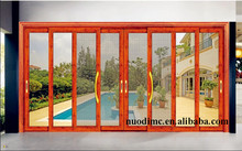 2015 new product aluminium living room sliding front latest designed door with tempered glass made in China
