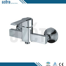 China Bathroom Brass Material Chrome Finish Hot Cold Bath Shower Faucet