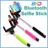 2015 new product aluminum bluetooth selfie stick with bluetooth shutter button z07-5 for smart phones