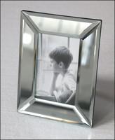 high grade frame picture new design bevel mirror photo frame top sale custom glass photo frame