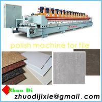 polish production line-polish matte finish vitrified floor tile