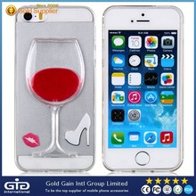 Fancy case cover for iphone 5 tpu 3d