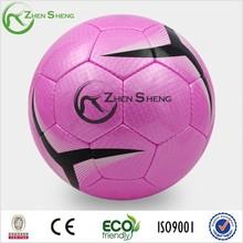 Zhensheng Pink Hand Sewn Soccer Ball