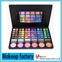 new arrival mixed 78 colors makeup kit multi-color eyeshadow&blush kit P78-11