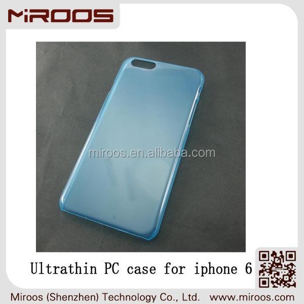 Ultrathin pc 0.5mm cover fashion design premium feel for iphone 6 cover simple elegant