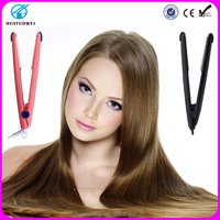 Dual Voltage ceramic LCD display hair curler with straightener comb