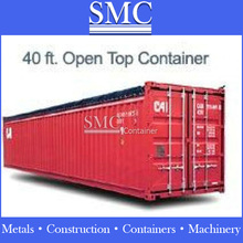 Tarpaulins open top containers