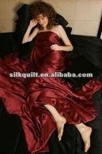 2012 hot-selling silk bedding sheet