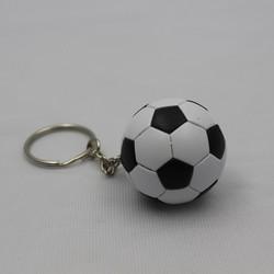 good quality custom available mini football souvenir keychain
