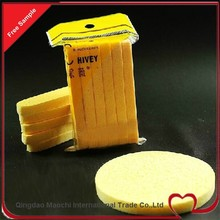 New Products On China Market Compressed Facial Sponge Wholesale