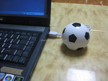 Hot Football shaped 4 port usb hub, usb2.0 hub,gift usb hub( VNHB-73)
