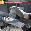 SRSAFETY HPPE PU Dipped Anti Folding Knife Cut Tearing Abrasion Glove