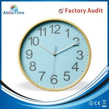 !Wall Clock Wood clock parts Wall Clock for promotion!