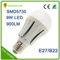 Want to buy stuff from china CE ROHS SMD5730 9w e27 12 volt led bulb 6000k