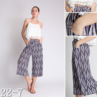 2015 Latest Designed Printed Loose Casual Women Trousers