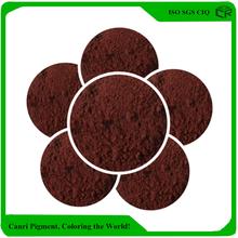 Iron oxide pigment brown emulsion paint for external