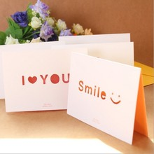 factory price embossing for valentine's day greeting card handmade birthday greeting card wholesale