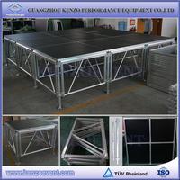 Aluminum adjustable height concert equipment stage platform