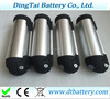 watter bottle battery 36v 13ah for 36v 350w motor