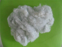 For filling 100% Recycled 15D*65MM Raw white Hollow conjugated two-dimensional Polyester staple fiber