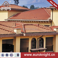 European style waterproof spanish style clay roof tiles cottage decoration for long life