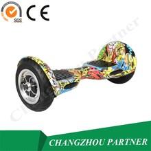 10 polegada grande roue pas cher auto équilibrage vélo électrique avec roue de formation