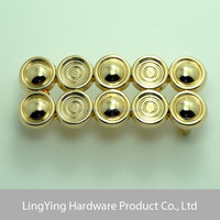 Chinese classical style gold decorative leather covered belt buckle