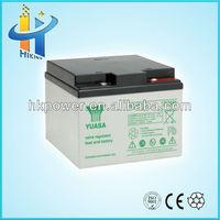 ups battery 12v 26ah battery for solar system battery vent plug